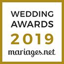 CelebrerLaVie, gagnant Wedding Awards 2019 Mariages.net
